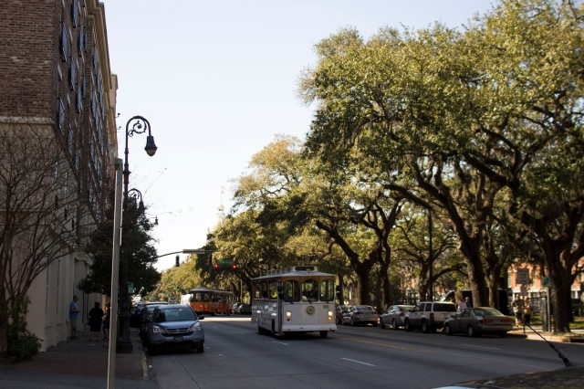 Bay Street in Savannah